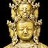 Avalokiteshvara. Tibet, 15th Century. Copper Alloy.