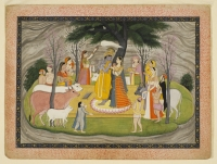 Forge Lynch Krishna, Guler, 1780