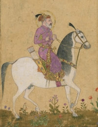 Prahlad Bubbar Press highlight   Portrait of the Emperor Shah Jahan